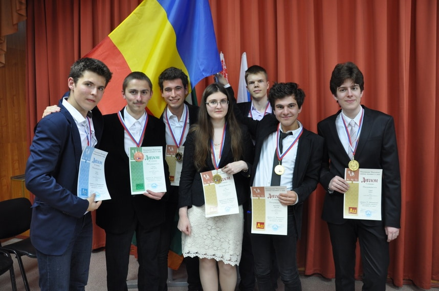 lotul olimpic de chimie al României