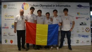 Lotul olimpic de informatică al României 2017